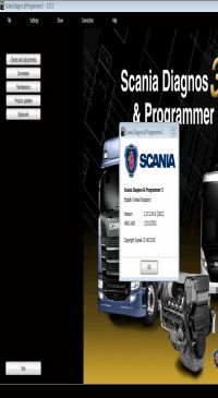 Scania SDP3 2.39 Diagnosis & Programming for VCI 3 VCI3 without Dongle